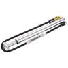 Lezyne Micro Floor Drive HPG Minipumpe mit Luftdruckmesser silber